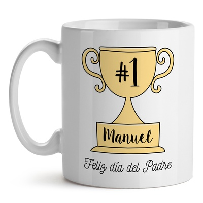 Taza Papá Number One